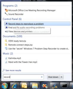 Screen Recorder - Windows 7
